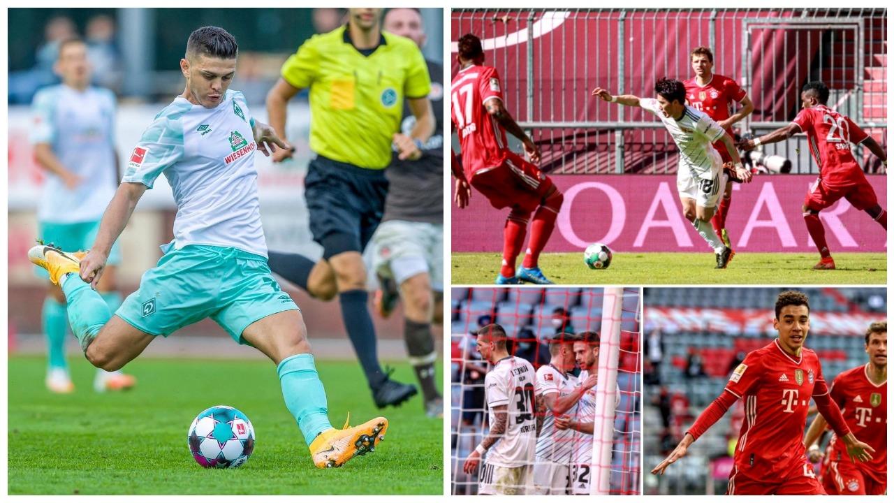 VIDEO/ Bayern ndalet në shtëpi, Rashica shënon golin e parë të sezonit