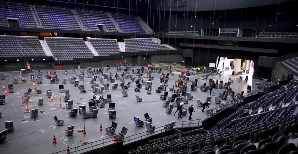 VIDEO/Nis ndërtimi i skenës së Eurovisionit, Holanda tregon çfarë do ndodhë me testet e Covid-19