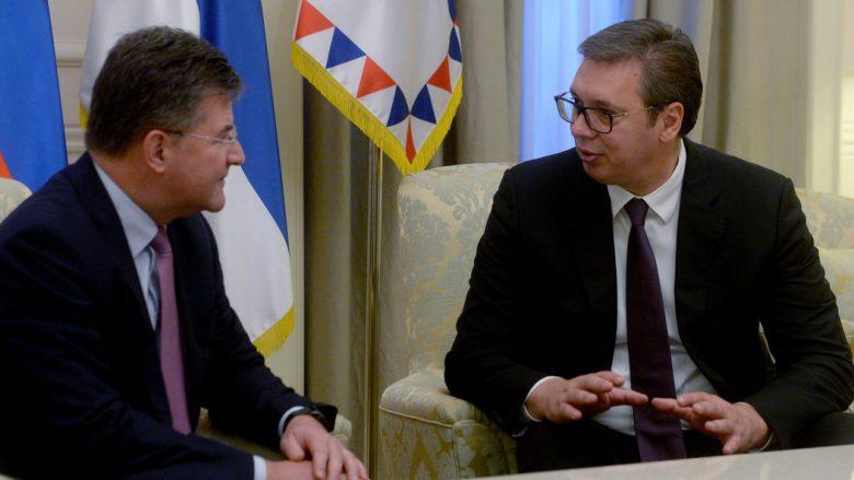 Dialogu Kosovë-Serbi, Vuçiç takohet sot me Lajçakun
