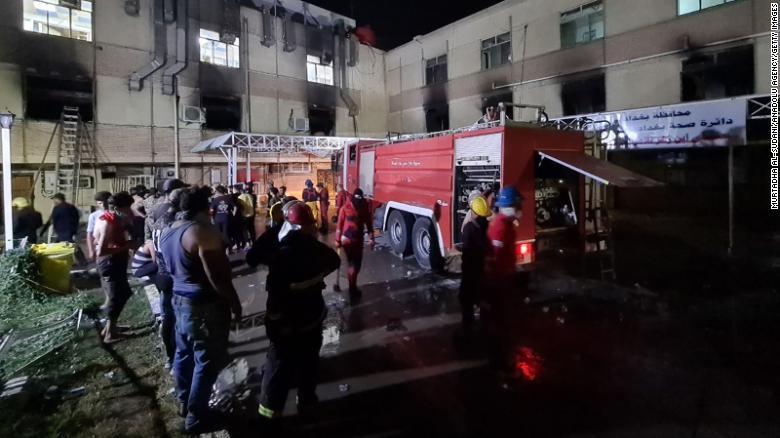 Shpërthejnë bombolat e oksigjenit në spital, të paktën 82 viktima dhe 110 të plagosur