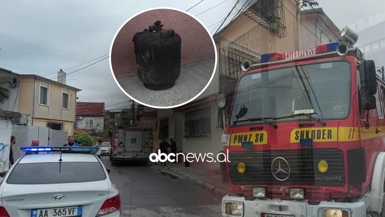 VIDEO/Shpërthen bombola e gazit në një banesë në Shkodër