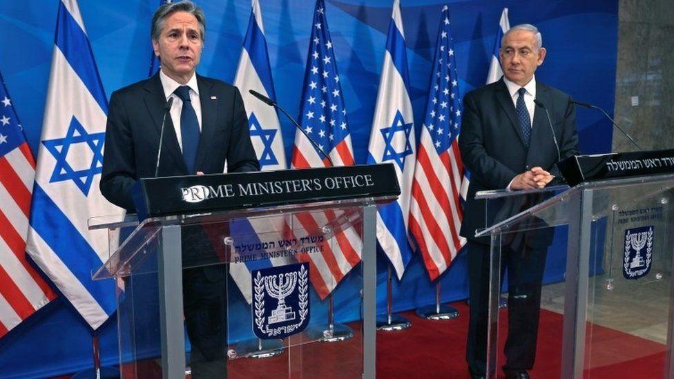 Blinken në Jeruzalem, premton mbështetjen e SHBA për rindërtimin e Gazës