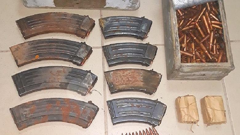 Kapen municione luftarake dhe armë në Bërxullë të Vorës