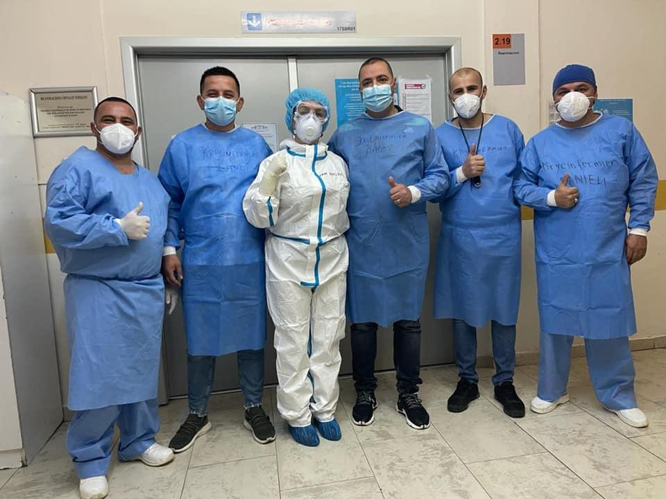 Najada Çomo: Kryeinfermierë në krye të betejës me Covid-19, faleminderit nga zemra