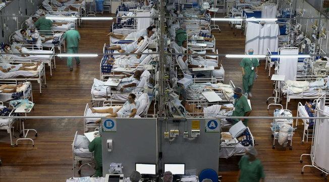 Brazili shënon rreth 3 mijë viktima nga Covid në 24 orët e fundit