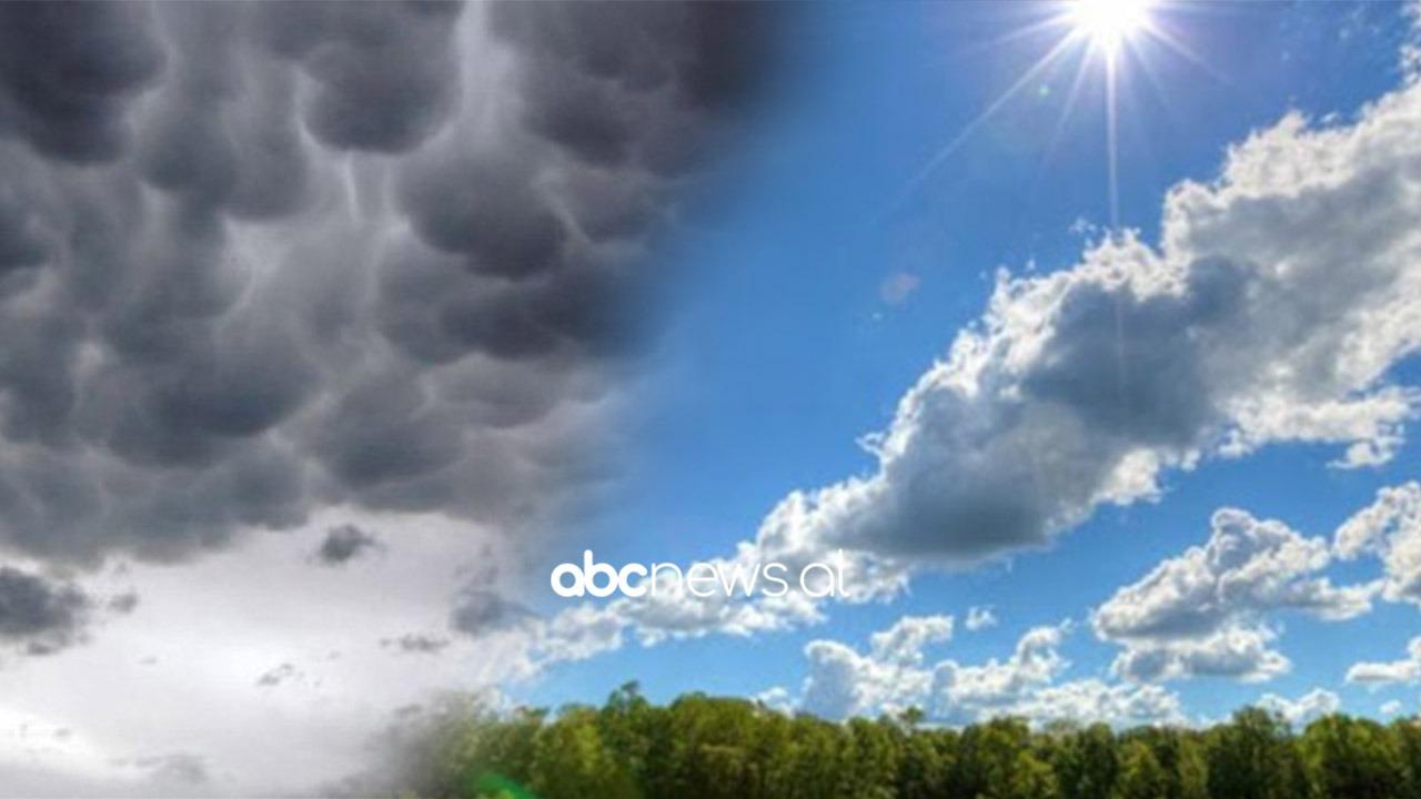 Vranësira, reshje shiu dhe masa ajrore të nxehta afrikane, surprizat e motit gjatë javës