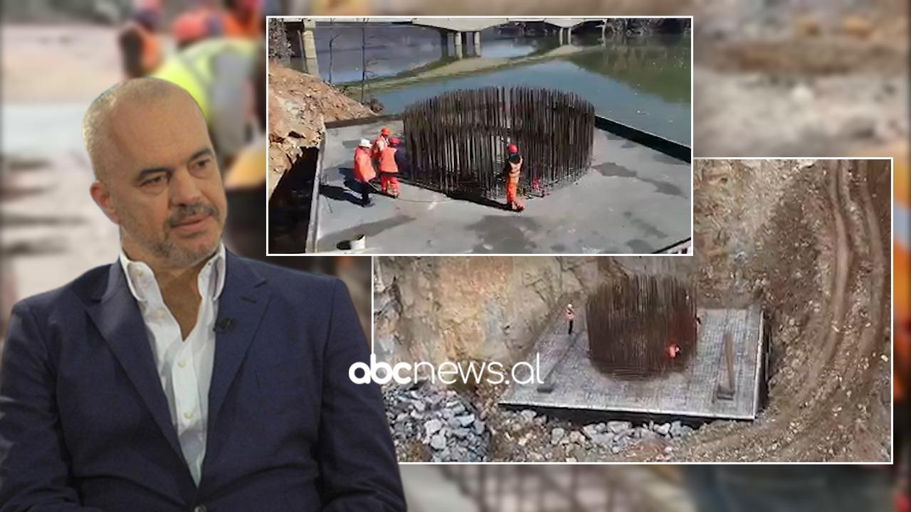 Rama nxjerr pamjet nga ura e Kukësit mbi Drin: 310 metra gjatësi, struktura me çelik special