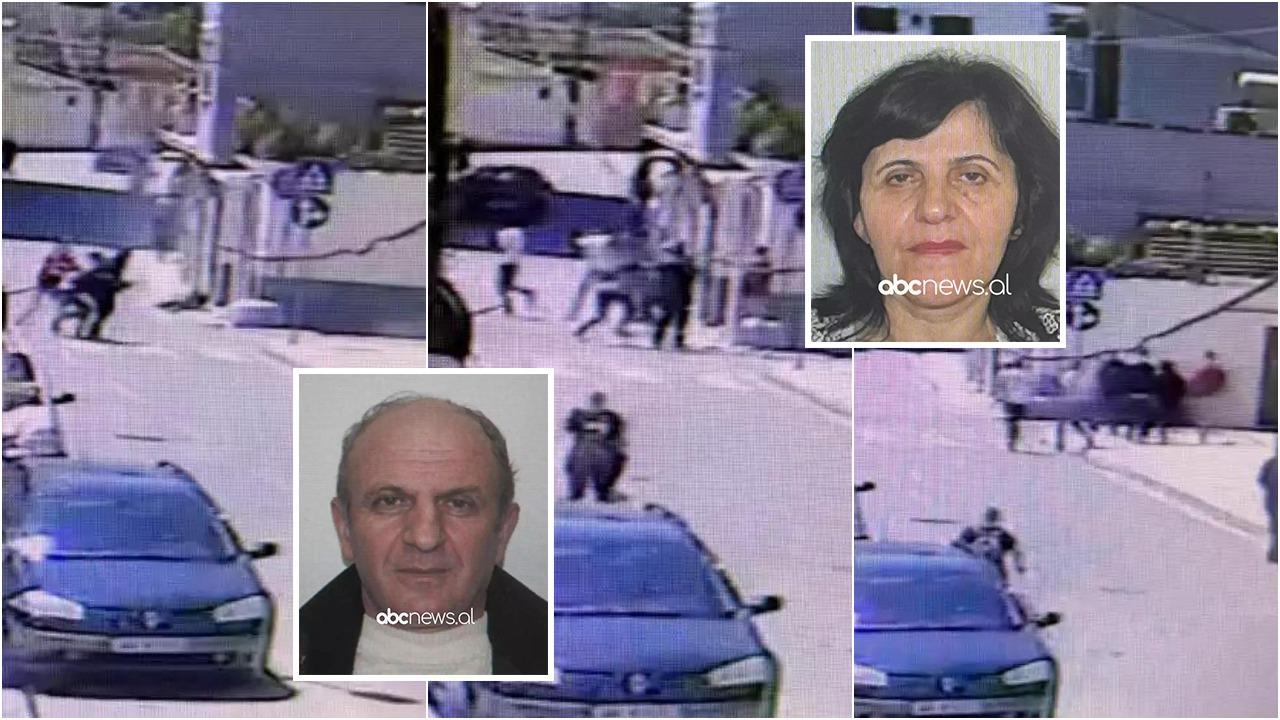 PAMJET/ Vrasja në Elbasan, momenti kur 58-vjeçari i afrohet gruas me thikë dhe kallashnikov në duar