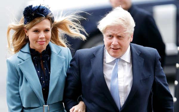 Kryeministri britanik, Boris Johnson martohet në një ceremoni sekrete
