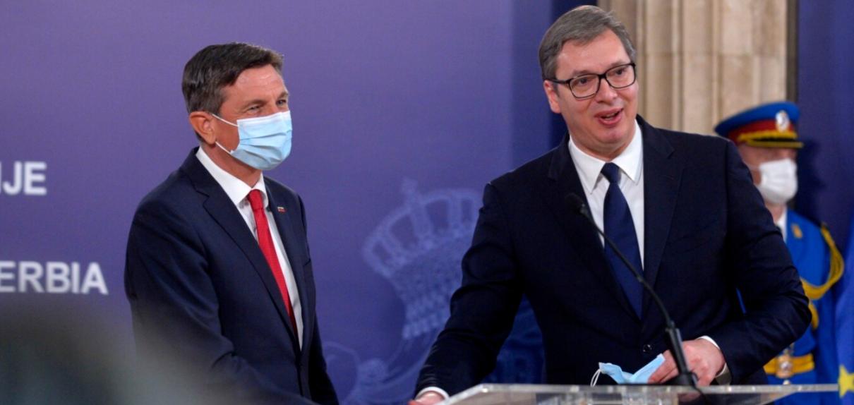 Presidenti slloven pas takimit me Vuçiç: Vendet e Ballkanit, bashkë në BE