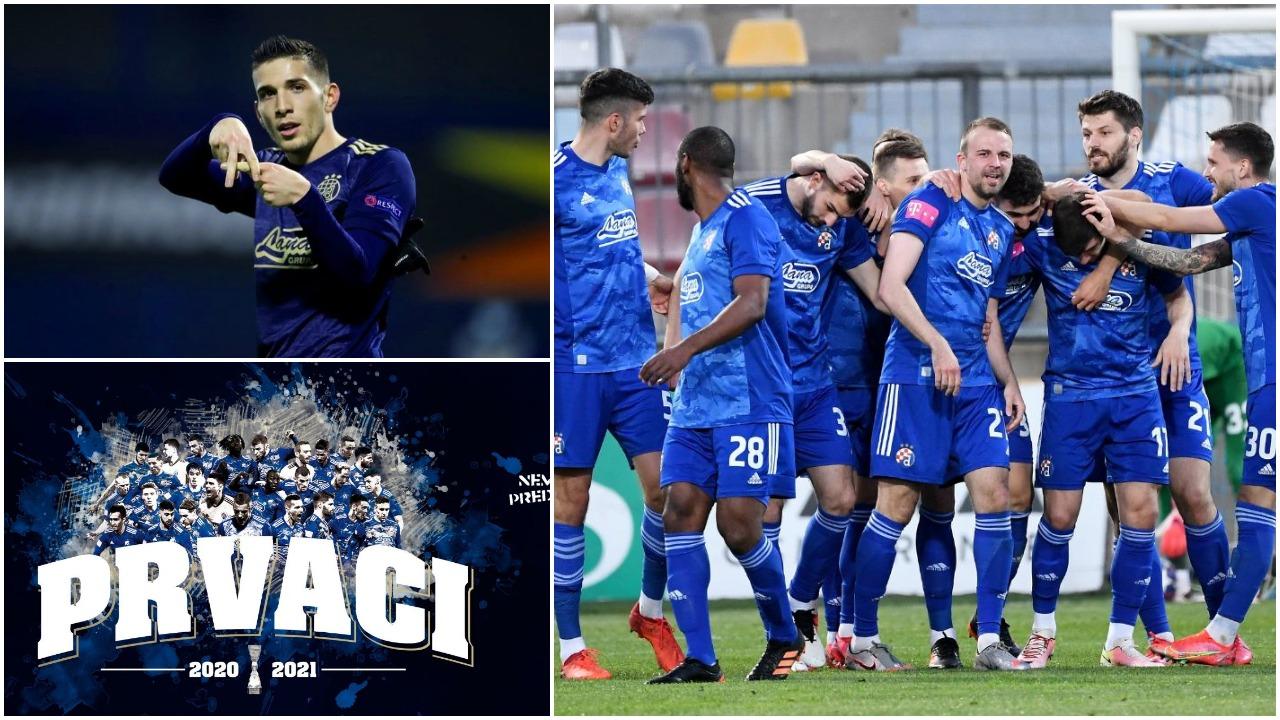 15 tituj në 16 vitet e fundit për Dinamon, Lirim Kastrati kampion i Kroacisë