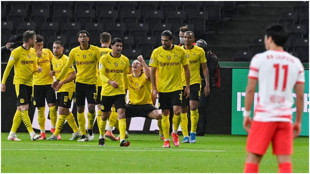 """VIDEO/ Dortmund shkëlqen në finalen e Kupës, mposht Leipzigun me """"poker"""""""