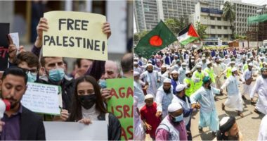 Përshkallëzimi i situatës në Lindjen e Mesme, protesta pro Palestinës mbahen kudo nëpër botë