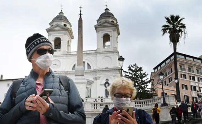 Italia regjistron 7,852 raste të reja me Covid-19 dhe 262 humbje jete