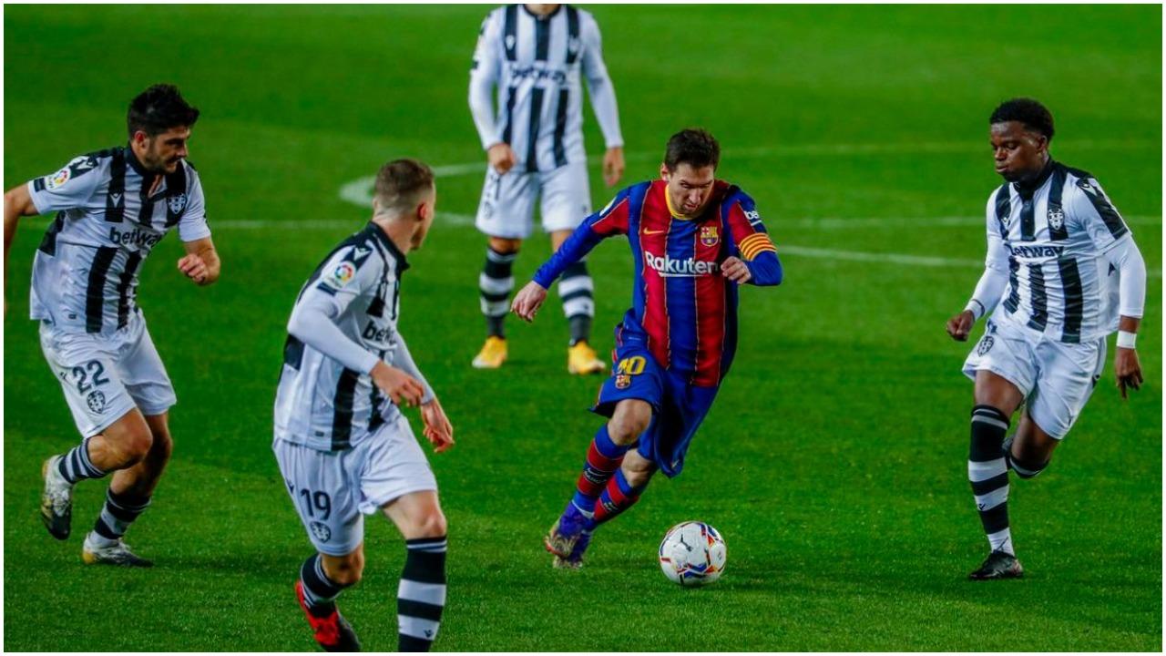 """Rekordi i radhës: """"Mbreti"""" i driblimeve, Leo Messi i jashtëzakonshëm"""