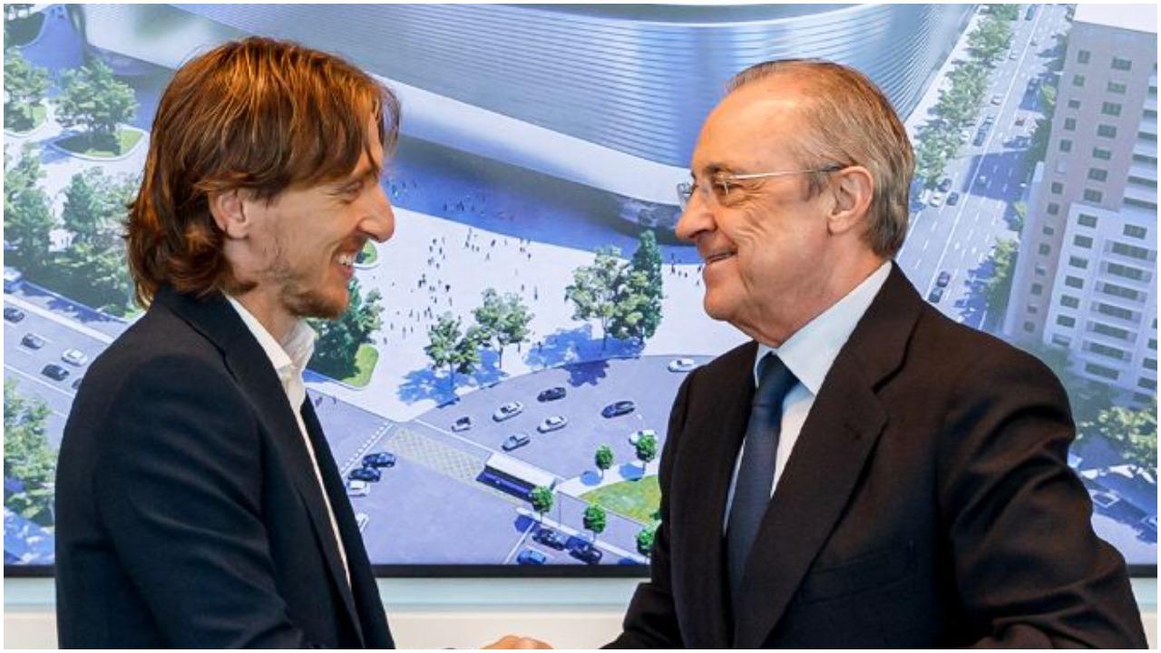 """""""Dy sulmues të Realit në merkato"""", Modric: Krenar për rinovimin, s'ka si ky klub"""