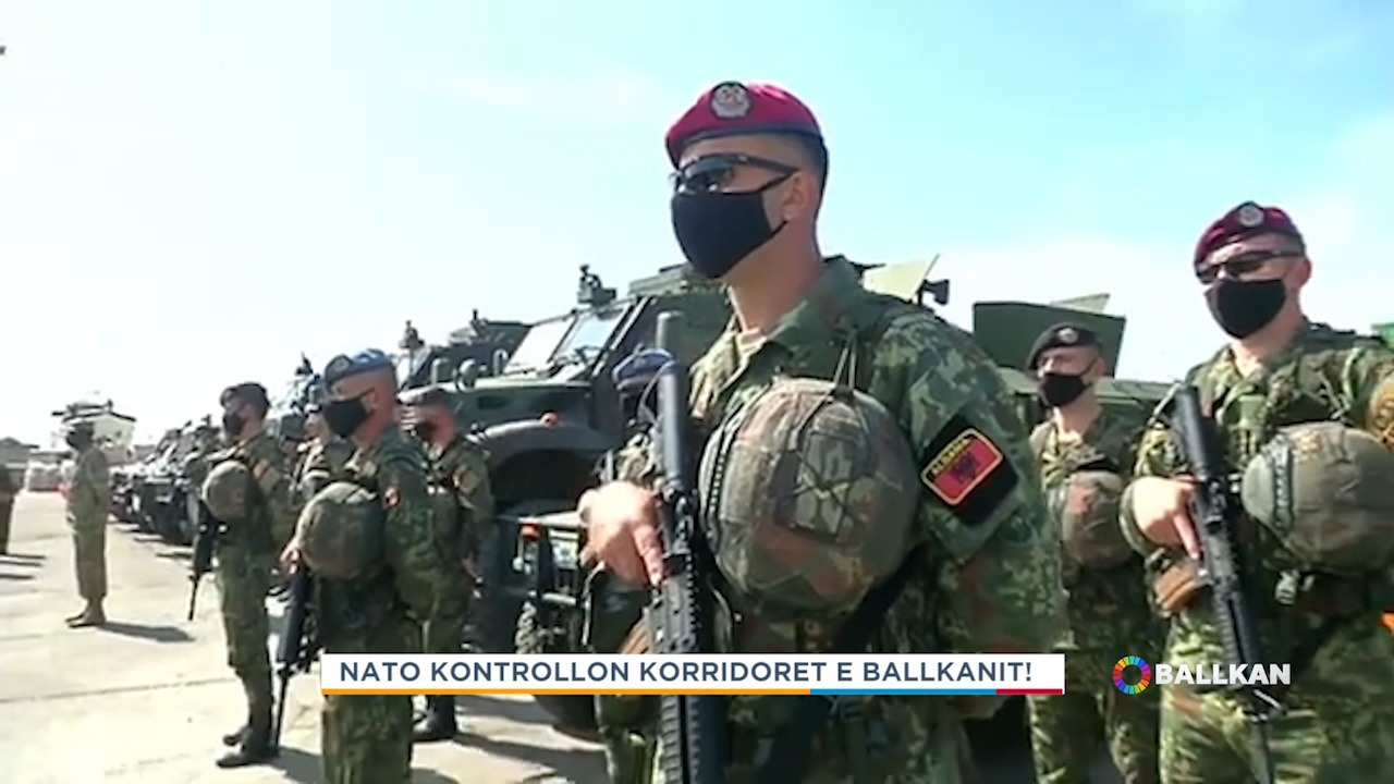 NATO kontrollon dy korridoret kryesore të Ballkanit!