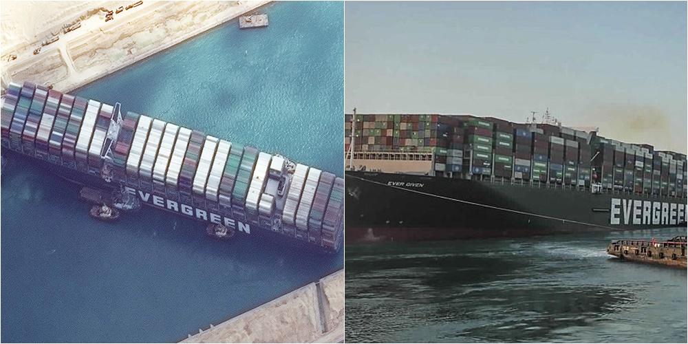 Pronarët nuk paguajnë dëmet, Egjipti sekuestron zyrtarisht anijen që bllokoi Kanalin e Suezit