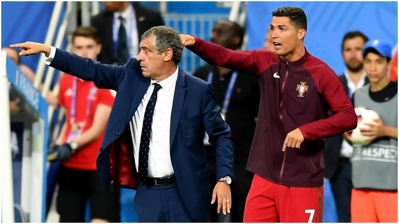 """""""E patë çfarë bëri Buffon?"""", Santos: CR7 do luajë edhe në Euro 2024"""