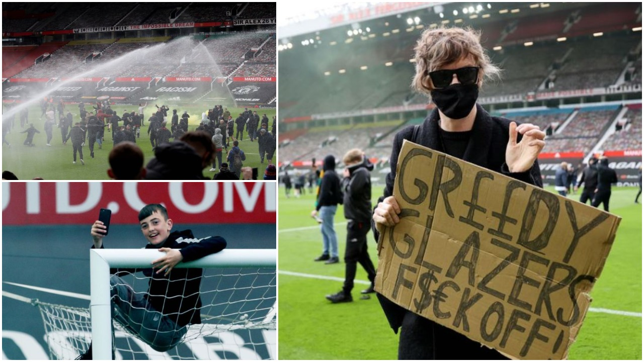 """Protesta e  tifozëve/ Pushtohet """"Old Trafford"""", shtyhet dueli United-Liverpool"""