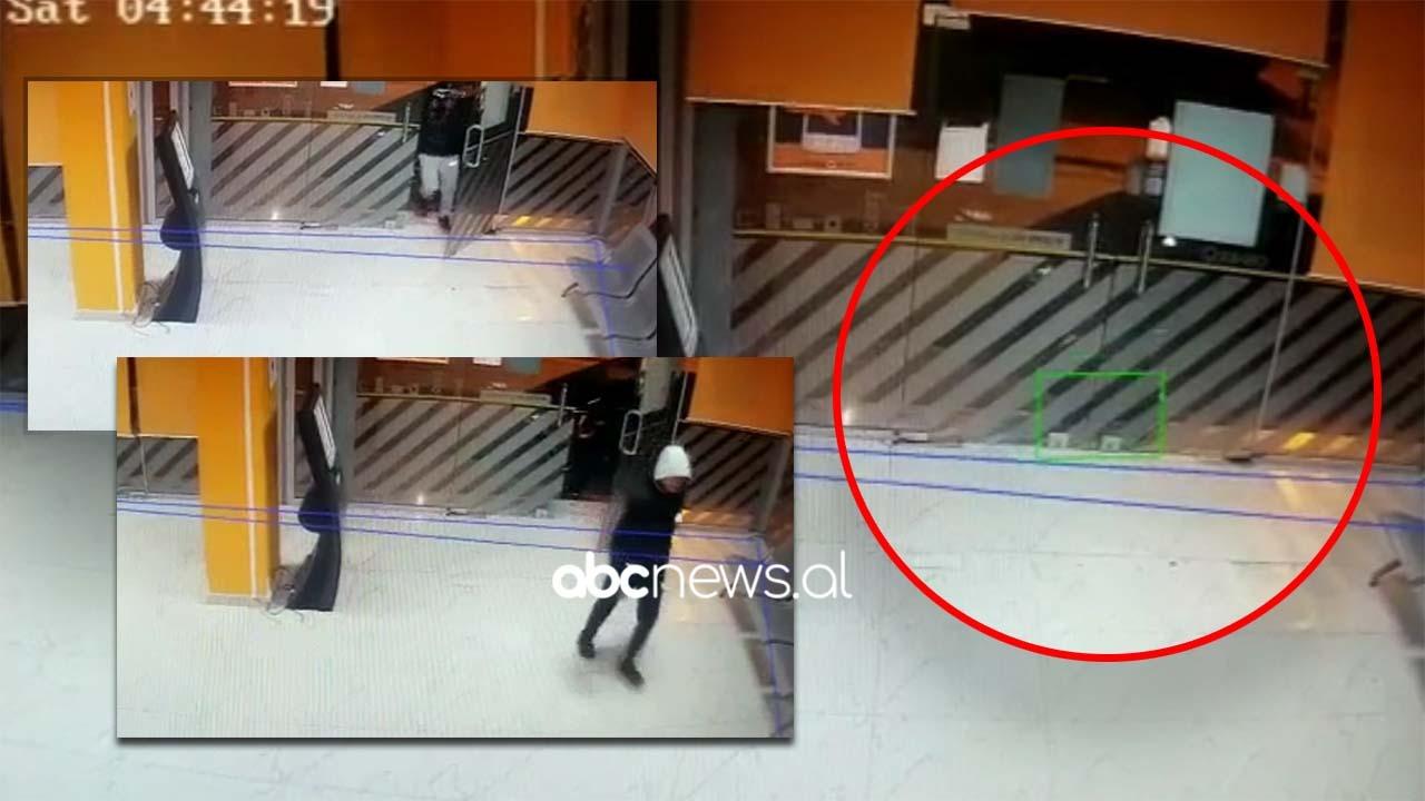 VIDEO/ Tre të mitur tentojnë të grabisin zyrat e OSHEE në Tiranë, momenti kur shpërthejnë derën