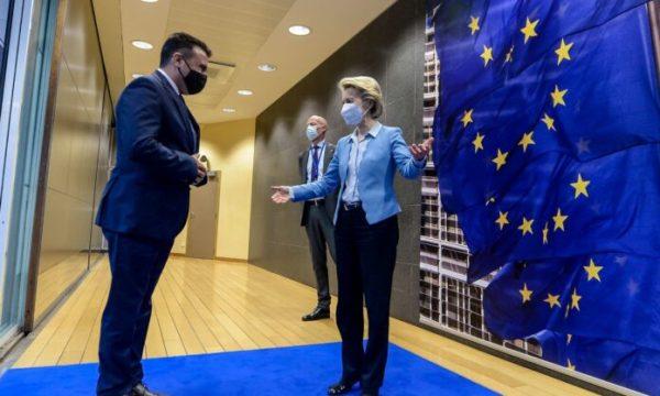 Zaev pas takimit me Von der Layen: RMV dhe Shqipëria të vijojnë sëbashku rrugën drejt BE-së
