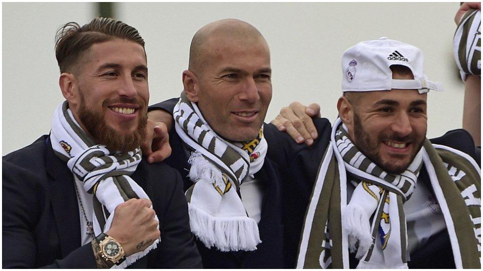 Benzema dhe Sergio Ramos në kor: Faleminderit uniku Zidane, shijoje jetën