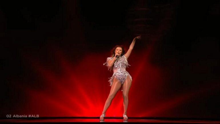 """""""Do ta mbaj mend gjithë jetën"""", Anxhela Peristeri flet pas performancës në Eurovision"""