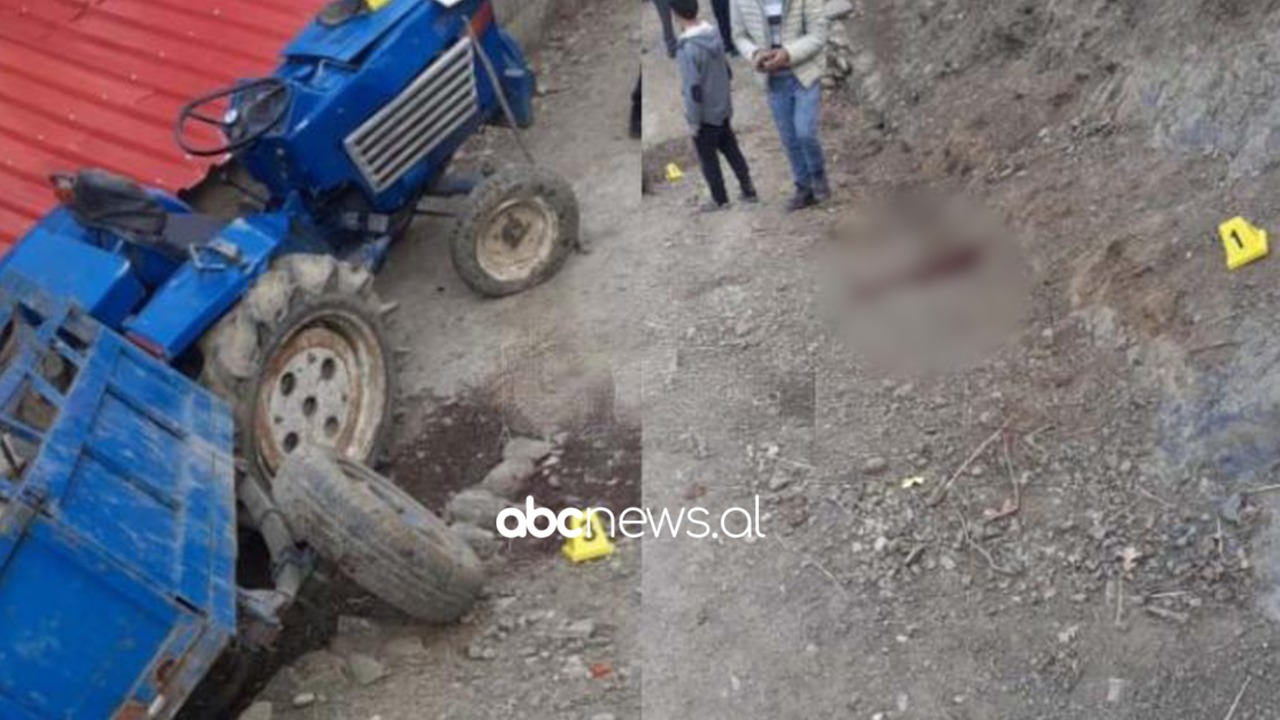 Sapo rregulloi traktorin dhe po kthehej në shtëpi, drejtuesi në Gramsh ndërron jetë pasi humbi kontrollin