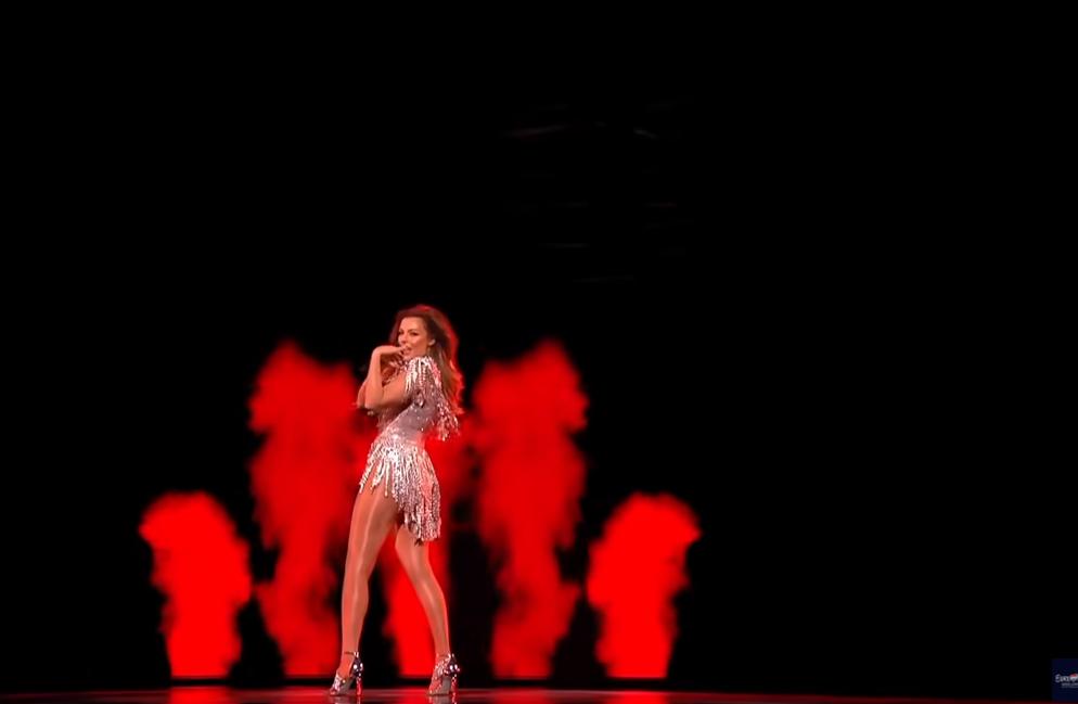 """""""Karma"""" në finale, Anxhela Peristeri ndez skenën e """"Eurovision"""""""