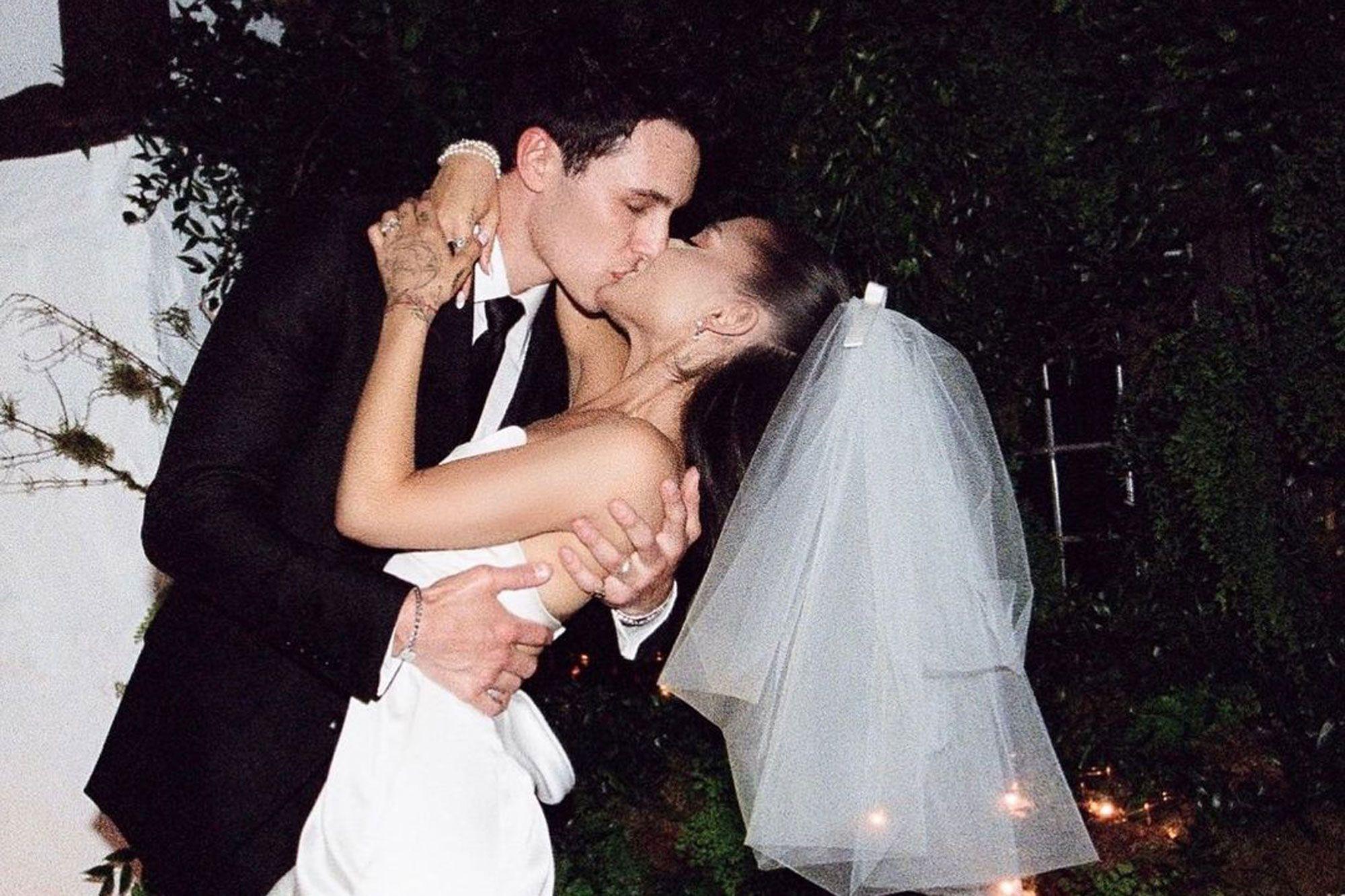 Ariana Grande thyen rekordin: Fotot e martesës së saj marrin 25 milionë pëlqime në Instagram