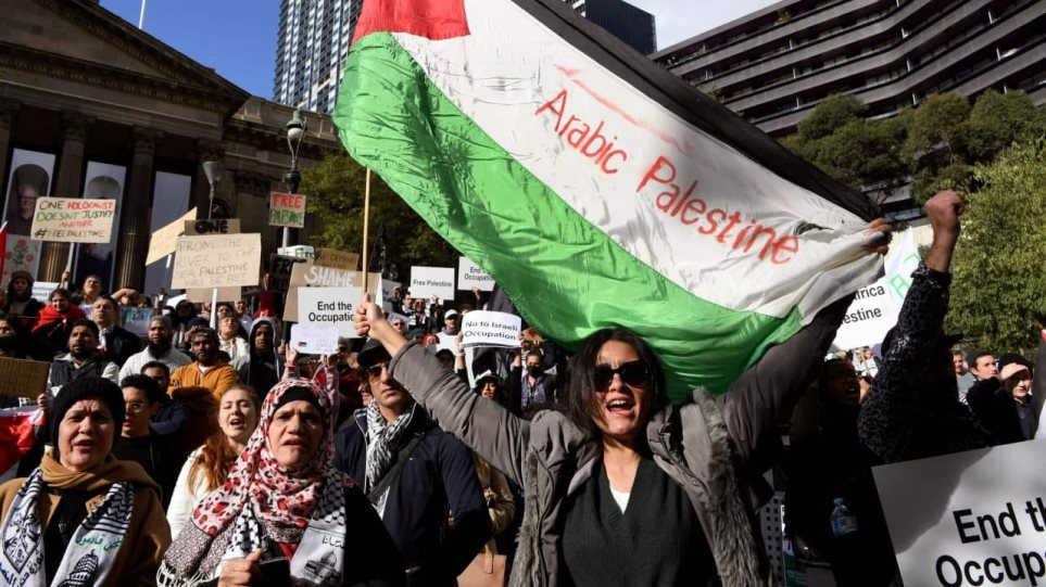 Konflikti në Lindjen e Mesme, australianët protestojnë ndaj sulmeve në Gaza