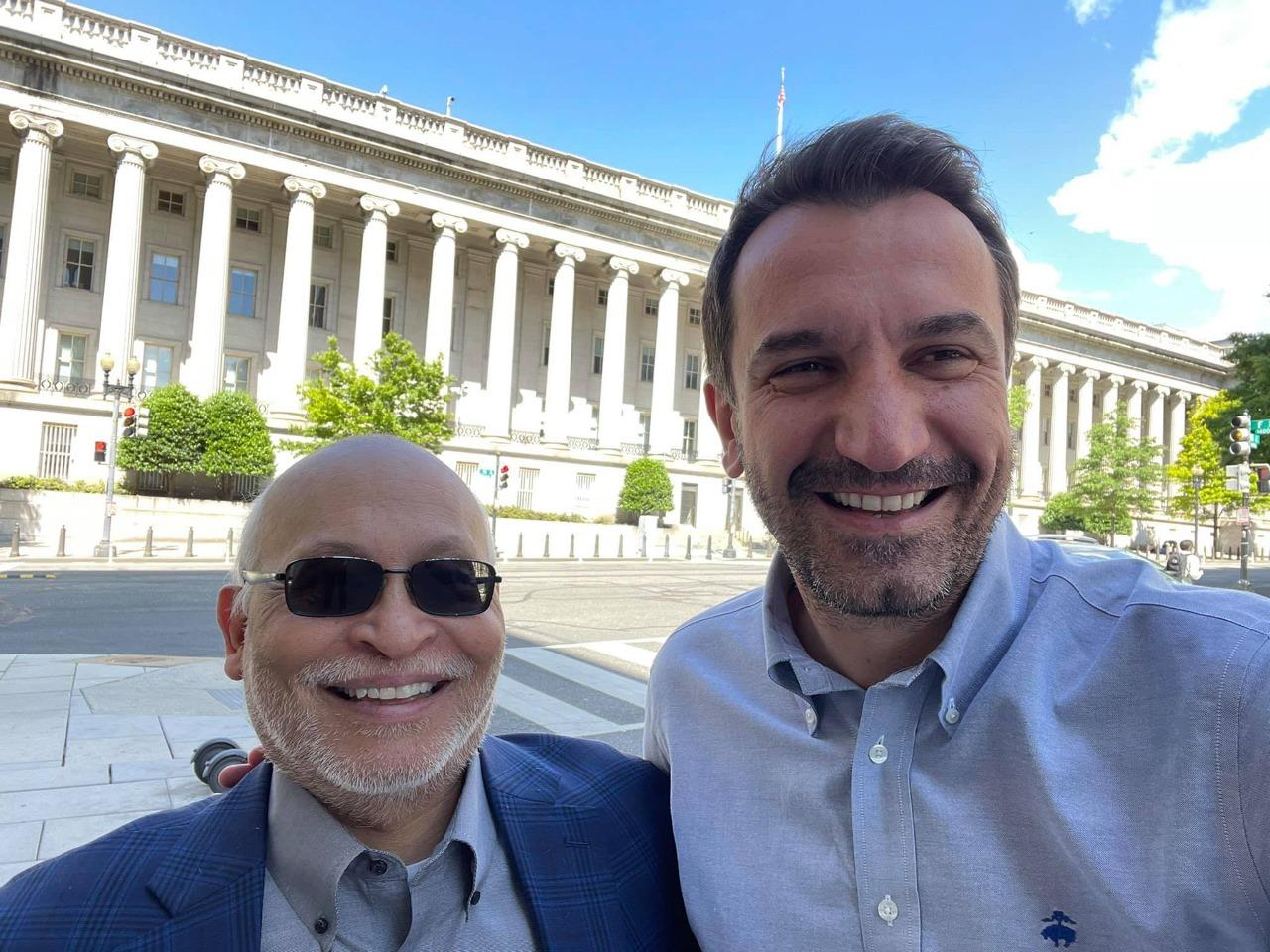 Veliaj vizitë në Washington, takon Arvizu: Mik i vjetër