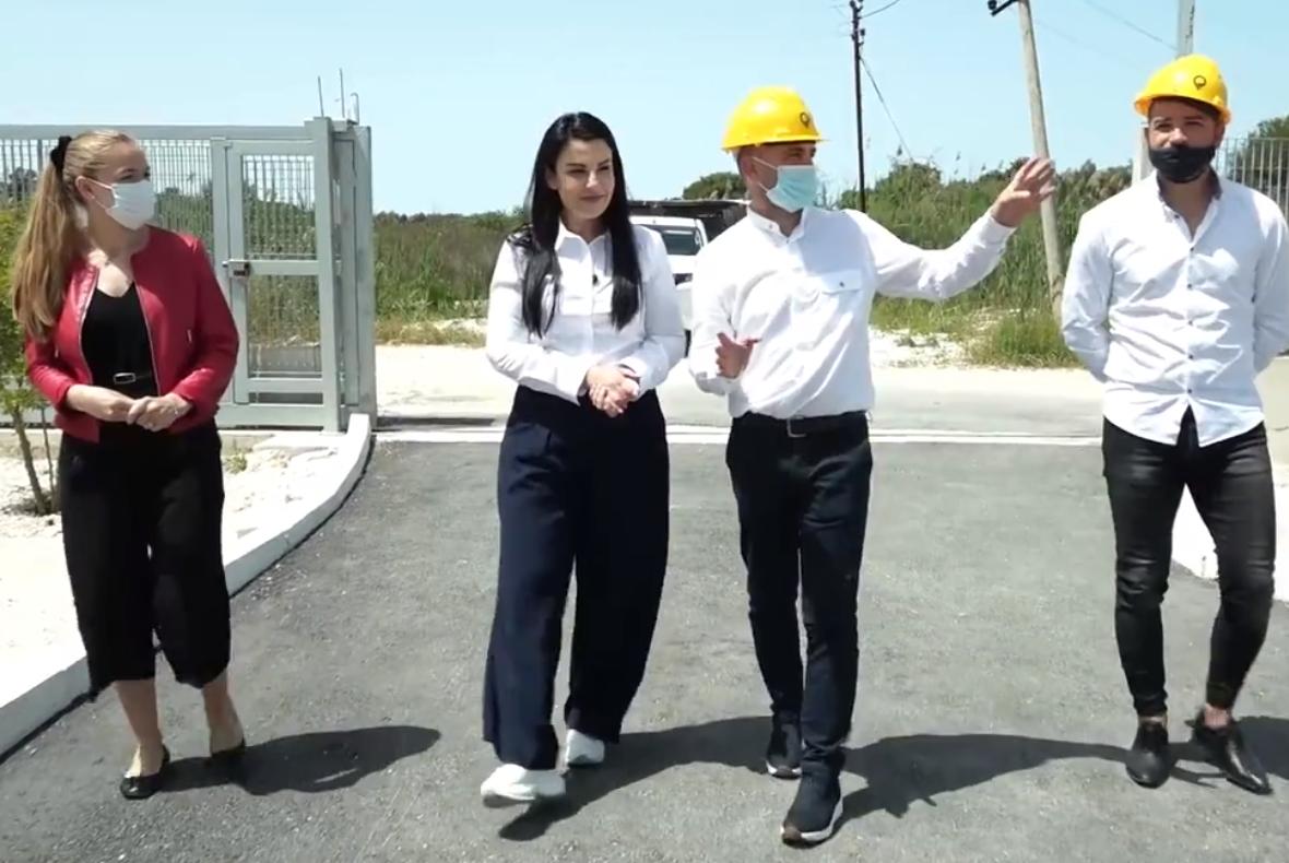 Balluku në nënstacionin elektrik të Hoxharës: Investimet, tashmë të dukshme edhe për vetë abonentët