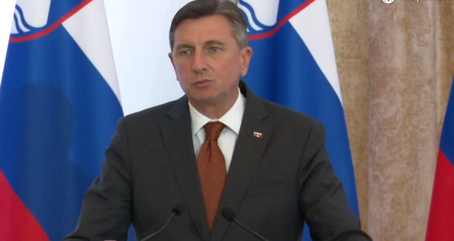 """""""Non-Paper"""", Presidenti slloven: BE të zgjerohet në Ballkan, brenda Unionit kufijtë bëhen më pak të rëndësishëm"""