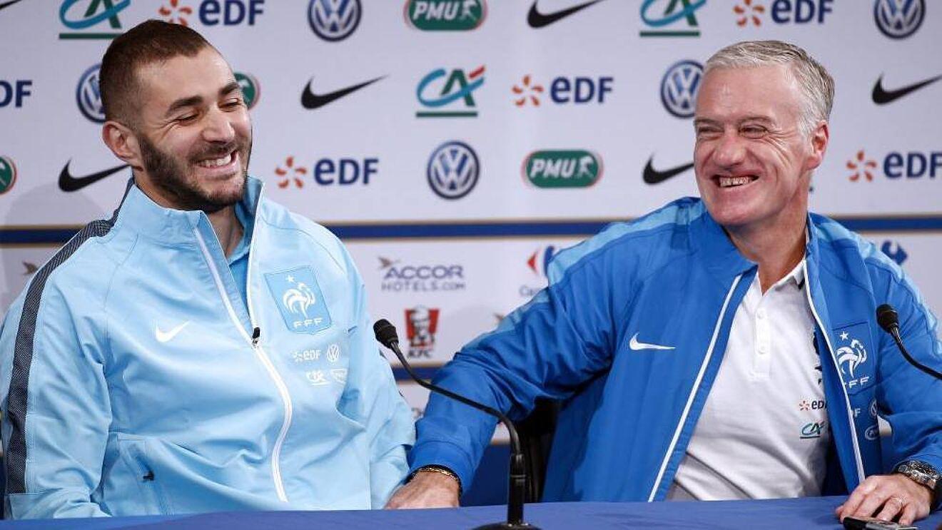 """""""Folëm gjatë dhe reflektova"""", Deschamps tregon prapaskenat e rikthimit të Benzema"""