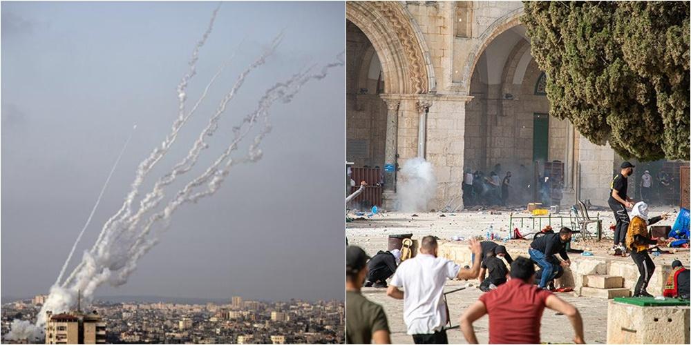 VIDEO/ Raketat nga Gaza godasin Jerusalemin, 9 të vrarë nga kundërsulmi i Izraelit