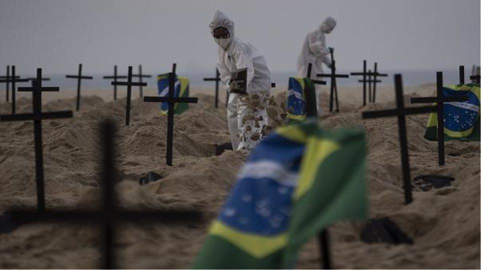 Rreth 435 mijë persona në Brazil kanë humbur jetën nga Covid që nga fillimi i pandemisë