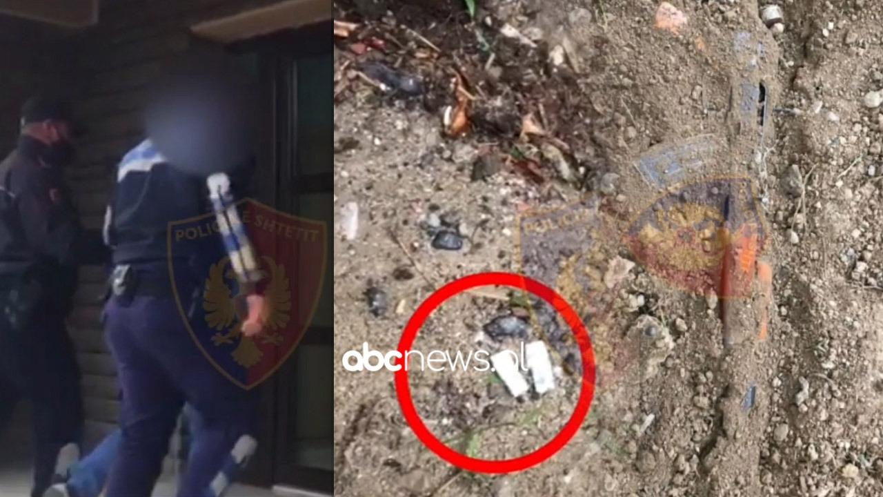 Shpërndanin heroinë e mbanin automatik pa leje në lokal arrestohen babë e bir në Korçë