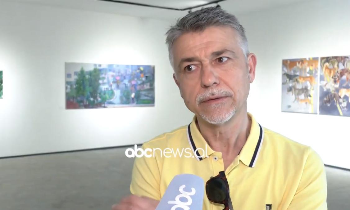 """Gara e egoja e artistit në pikturën e Kërçovës, shqetësimet më ngacmuese të piktorit në ekspozitën """"Qen"""""""