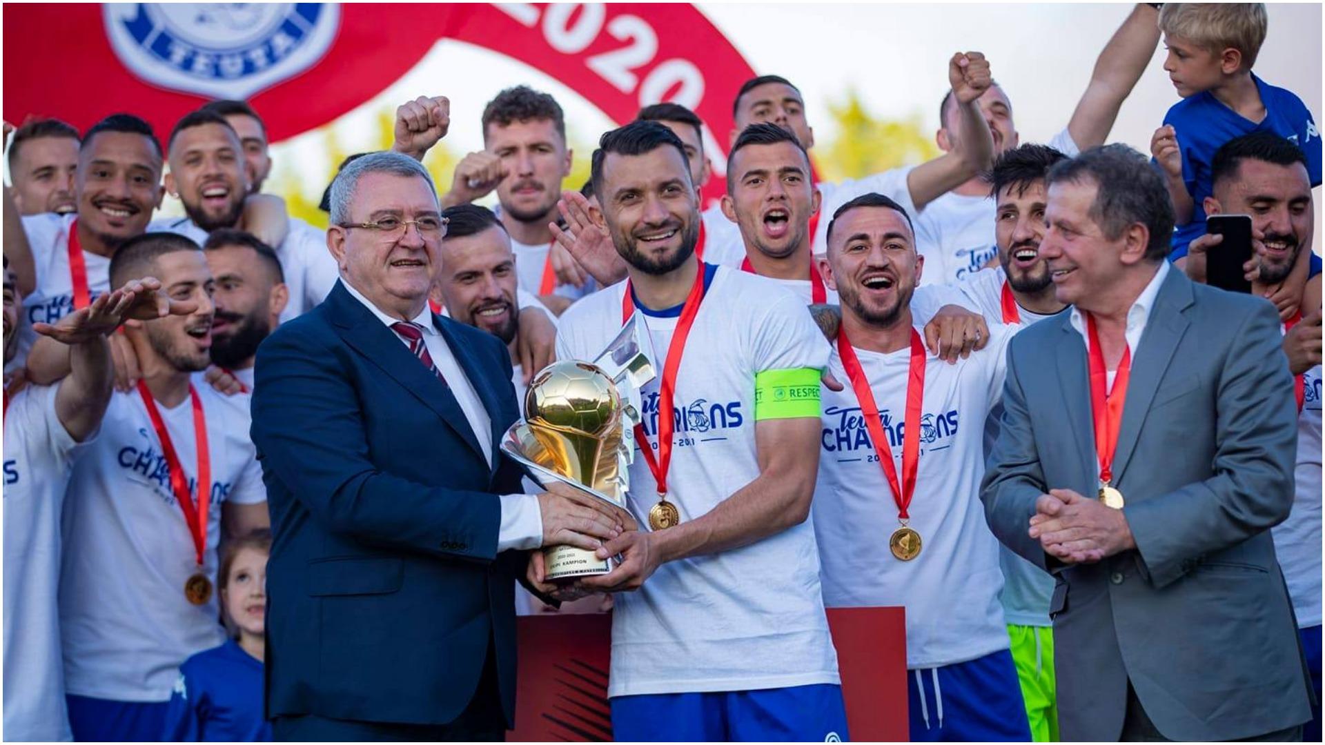 """""""Urime! Tani në punë për kupat e Europës"""", Duka përshëndet Teutën kampione"""