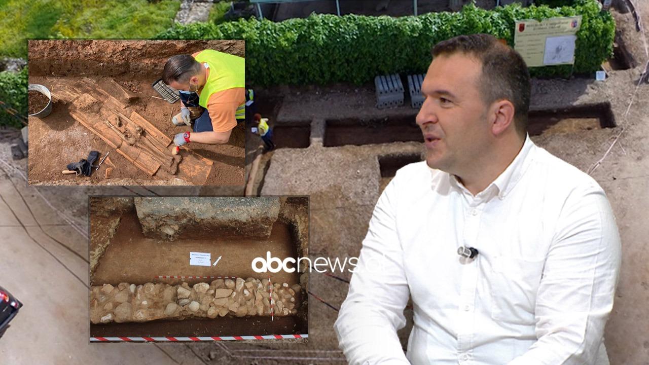 Gjatë punës për ndërtimin e një rrjeti ujësjellësi, zbulohen varre 2 mijëvjeçare te Muzeu i Tiranës