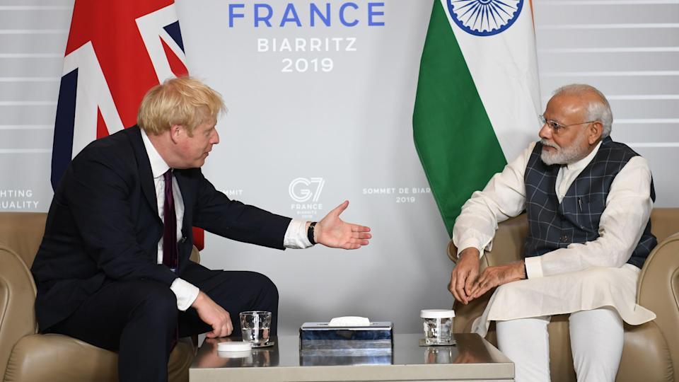 Britania dhe India nënshkruajnë marrëveshje tregtare me vlerë prej 1.4 miliardë dollarësh