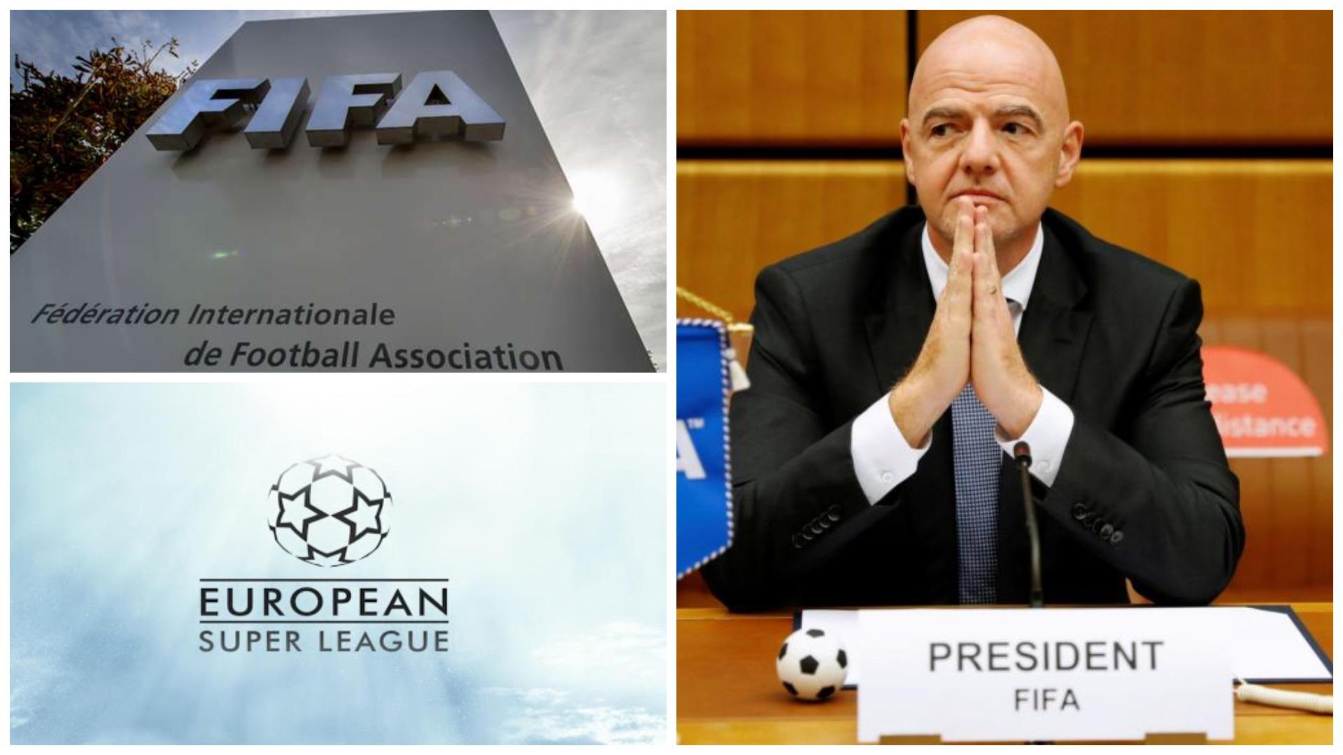 """""""Thashetheme, nuk ka komplot nga FIFA"""", Infantino sulmon New York Times"""