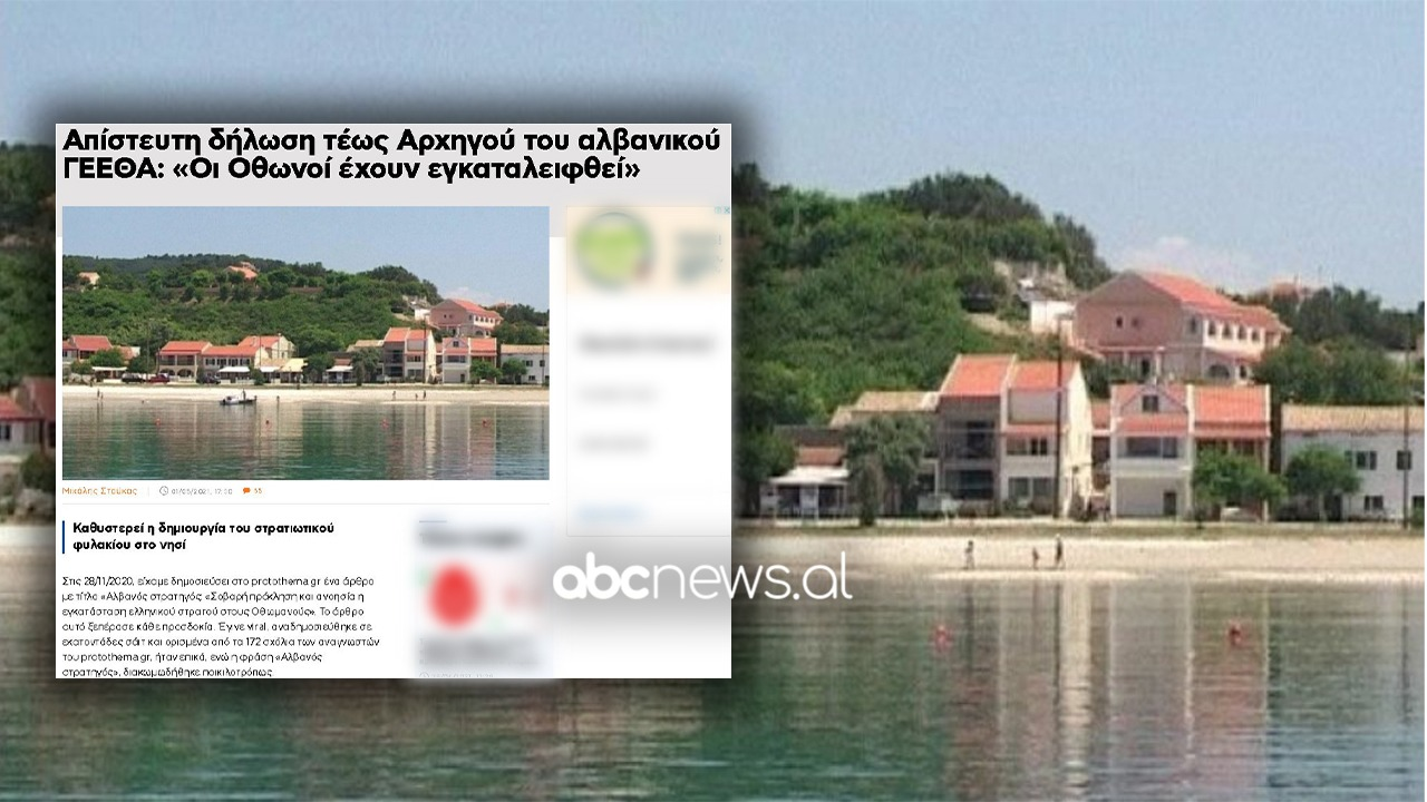 Kufiri detar, gazeta greke e shqetësuar pas deklaratave në Abcnews.al: Qeveria jonë u step