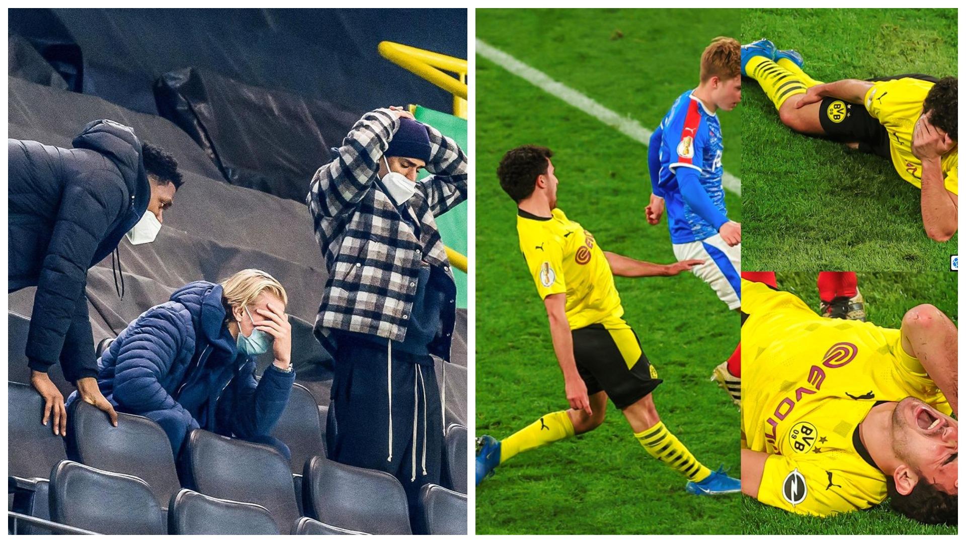 VIDEO/ Tmerroi Erling Haaland, dëmtimi i frikshëm i talentit të Borussia Dortmund