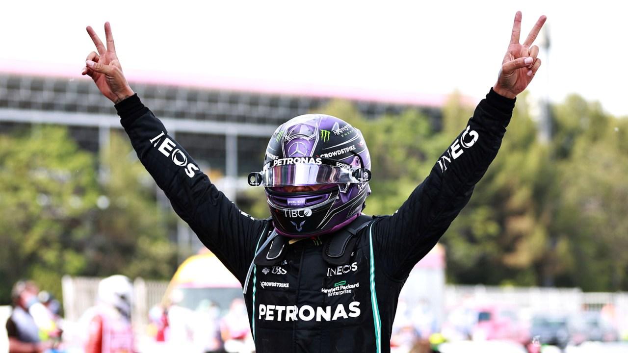 """Verstappen nuk reziston dot, Lewis Hamilton """"Zot"""" edhe në Spanjë"""