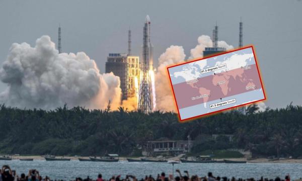 """Me shpejtësi 7 km për sekond, brenda 1 ore prek tokën, """"NYT"""": Çfarë ndodh me Kinën nëse raketa shkakton dëme"""