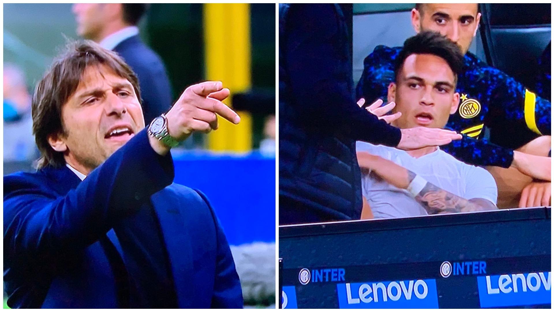 """VIDEO/ """"Fenomen m*ti, godit veten tënde"""", çfarë tha Conte në sherrin me Lautaro"""