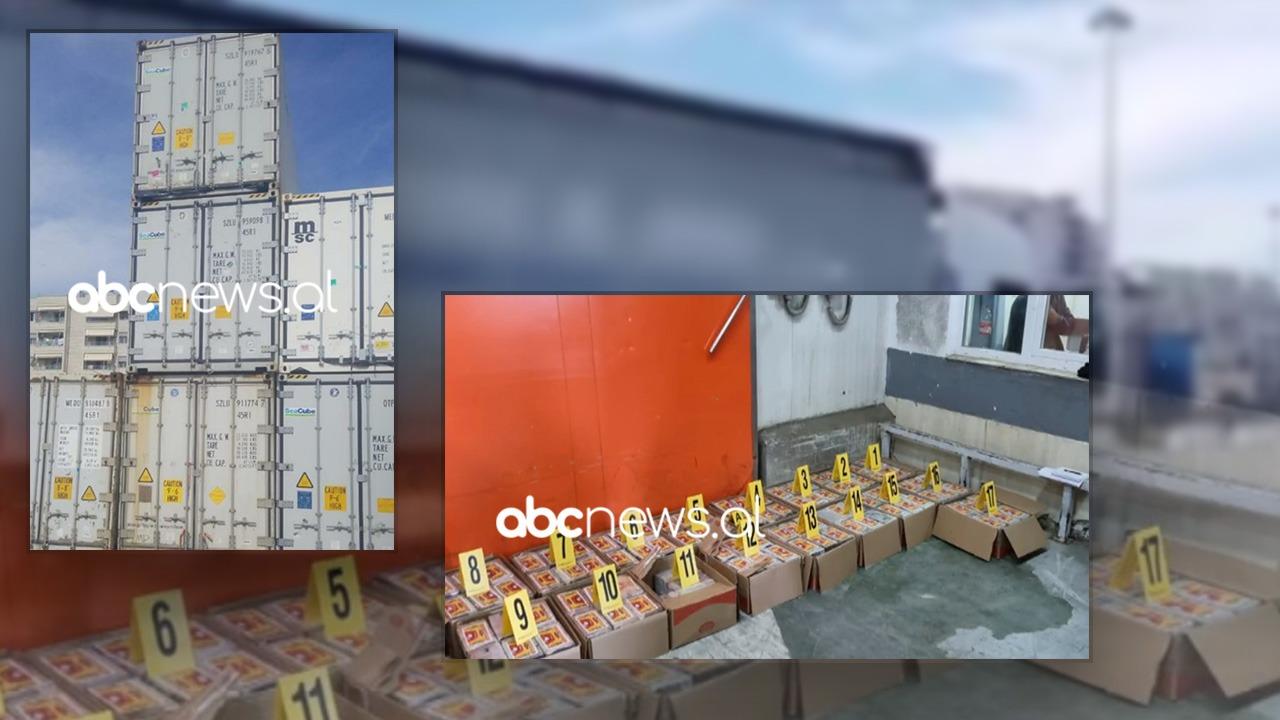 Të ndara në kuti kartoni, dalin pamjet e 400 kg kokainë të kapur në Kosovë